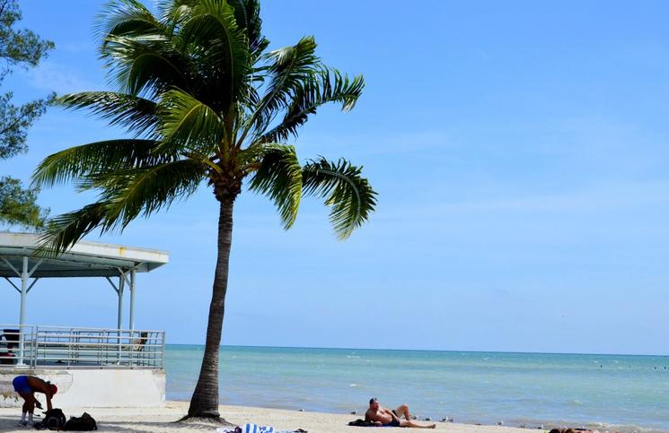 Plaża na Key West