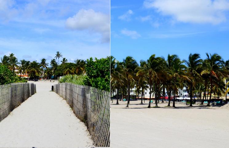 Plaża w Miami Beach na Florydzie