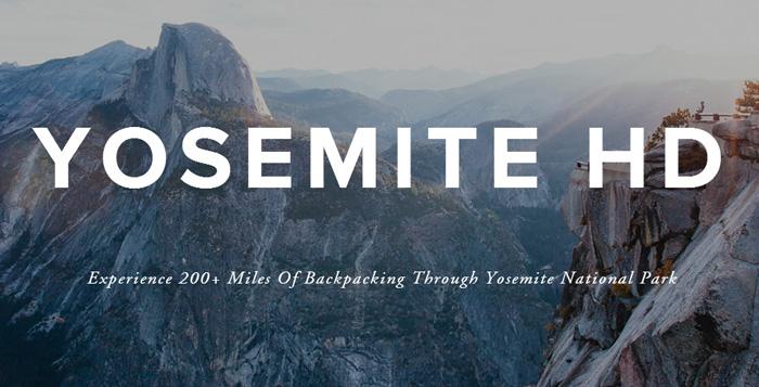Yosemite w Kalifornii
