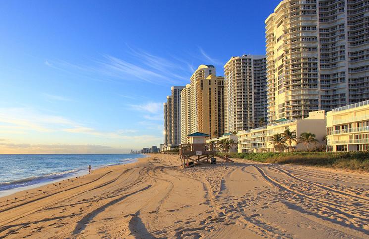 Majami -plaża i słońce - Floryda