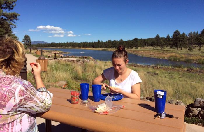 Piknik na kempingach w USA