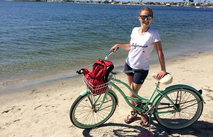 Zwiedzanie San Diego na rowerze