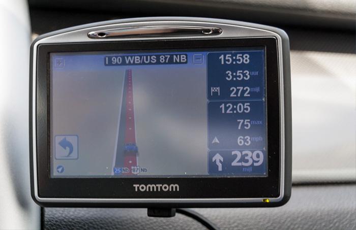 Nagwgacja GPS samochod