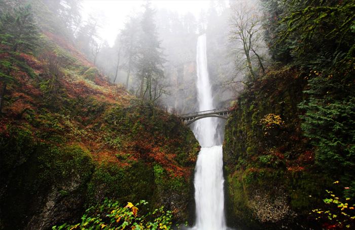 Wodospad-Oregon