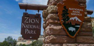 Park Narodowy Zion w USA