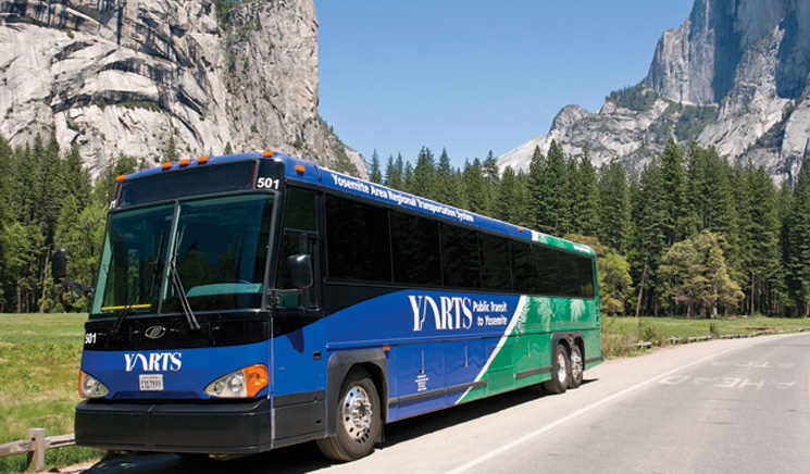 Autobusy YARTS - Yosemite Area Regional Transportation System
