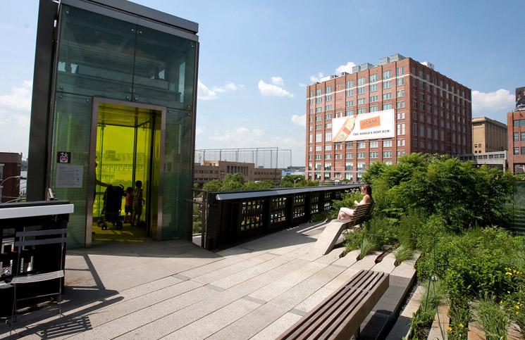 Nowy-Jork-High-Line-wejscie