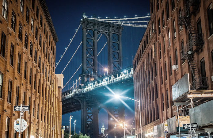 Widok-Most-Manhattan-Bridge-DUMBO