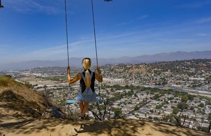 Los-Angeles huśtawka