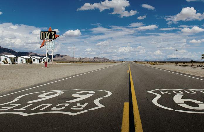 Znak Droga 66 (Route 66)