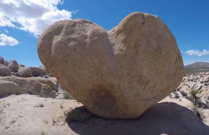 Heart Rock Joshua Tree