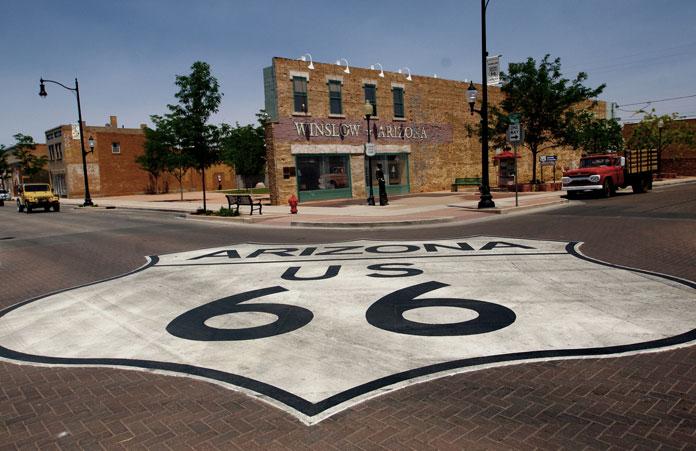 Route 66, Droga 66 w USA