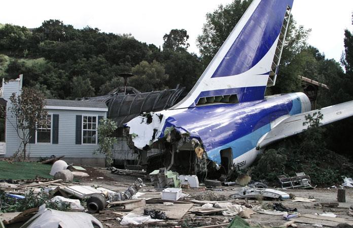 Universal Studio Rozbity Samolot
