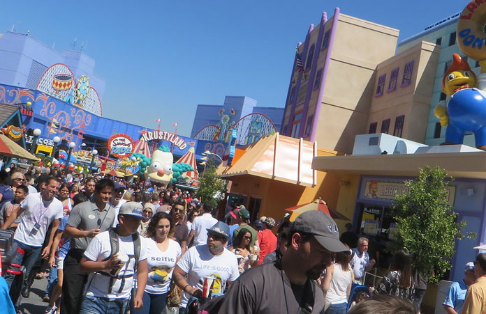 Universal Studio turyści