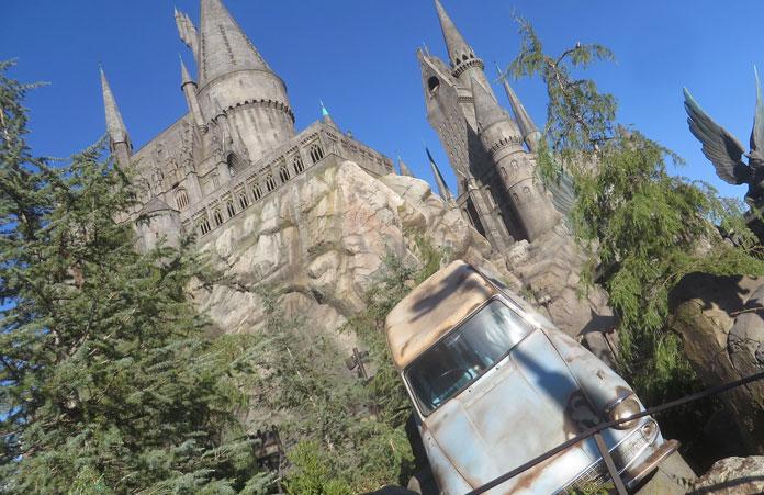 Universal Studio Zamek Harry Pottera