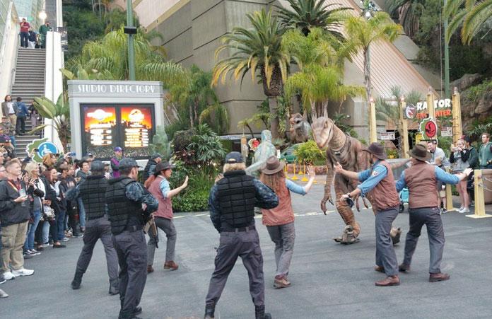 Universal Studios show chodnik