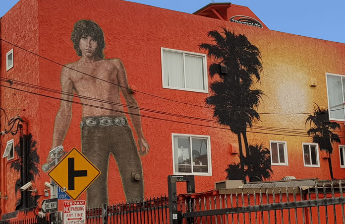 Mural Jim Morrison Venice Beach