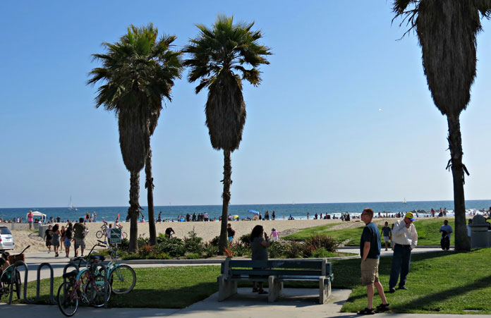 plaża Venice Beach