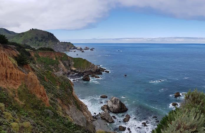 Wybrzeże Big Sur California