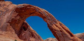 Łuk Corona Arch w stanie Utah