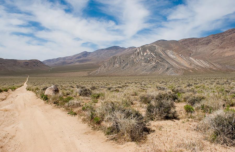 Dolina Śmierci - droga lokalna