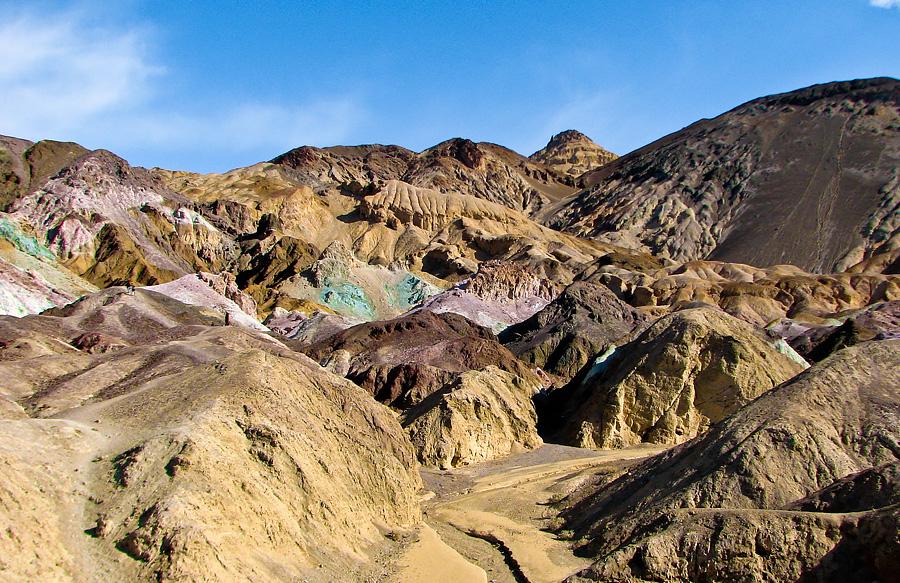 Dolina Śmierci - Artists Palette