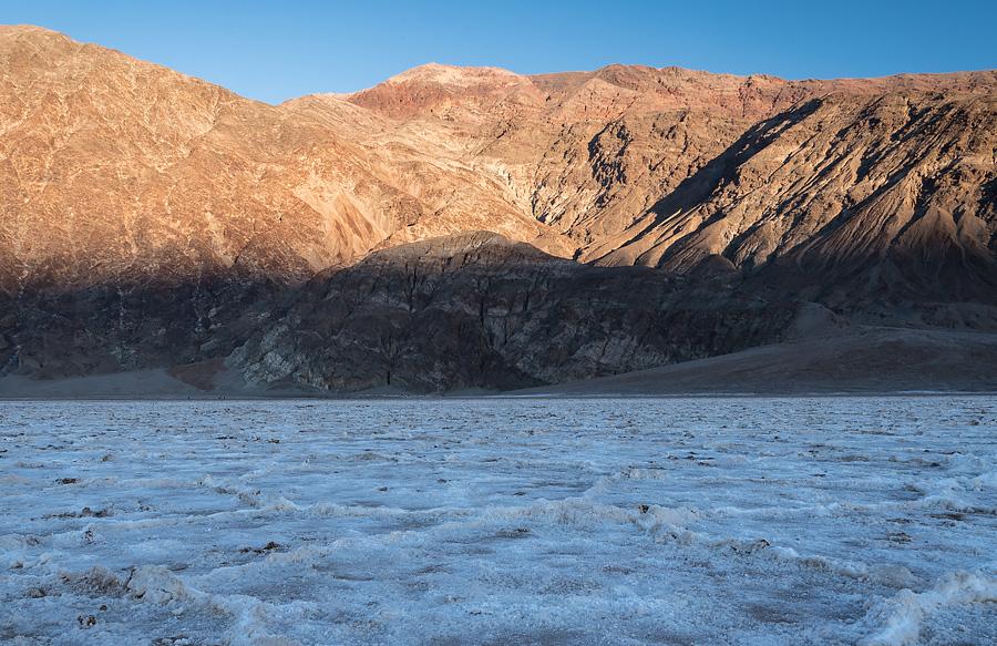Dolina Śmierci - Jezioro Badwater