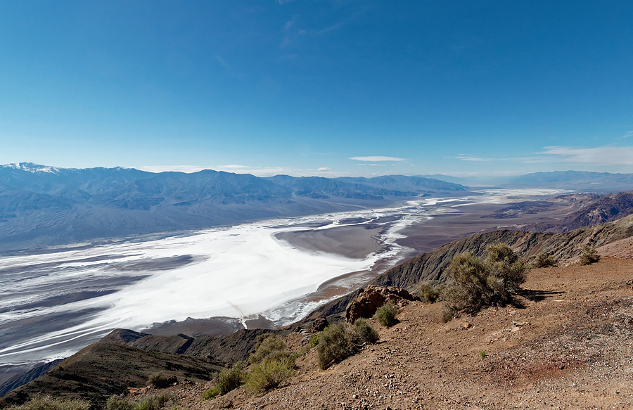 Dolina Śmierci - punkt widokowy Dante's View