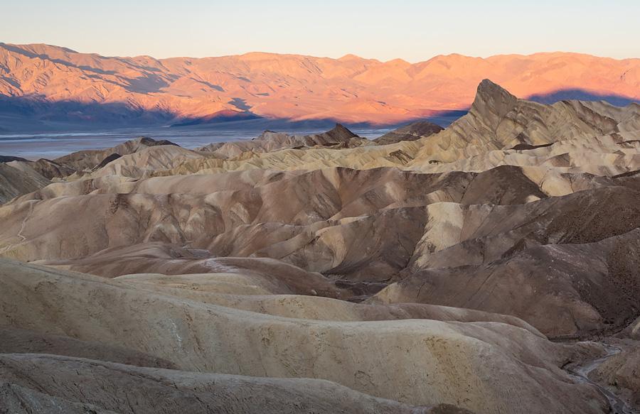 Dolina Śmierci - widok na Zabriskie Point