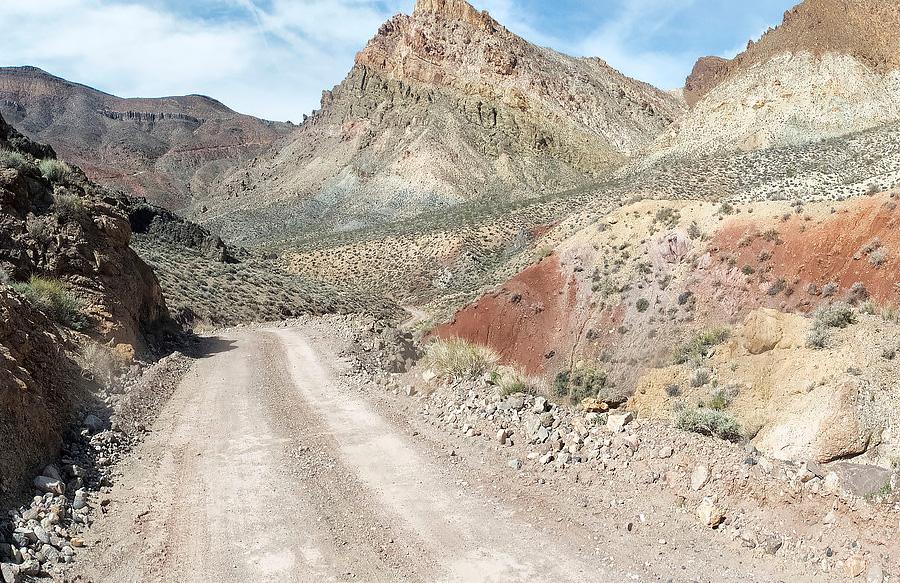 Droga-Szutrowa w Dolinie Śmierci